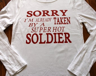 Sorry I'm already taken by a super hot soldier