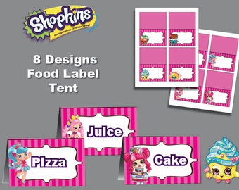 It's just a graphic of Astounding Free Printable Shopkins Food Labels