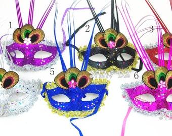 Wholesale Masquerade Ball Mardi Gras Eye-Catching Halloween Mask