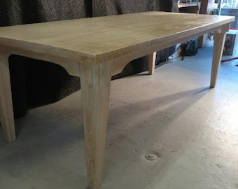 Farmhouse Oak Dining Table