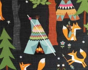 Camping Fabric by Timeless Treasures