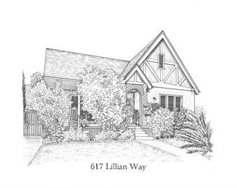 Custom House Drawing