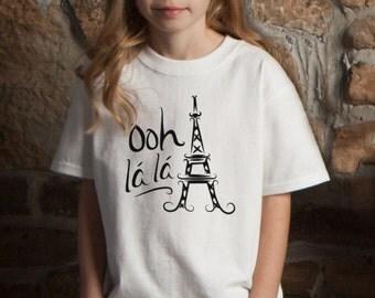 Ooh La La Paris Eiffel Tower T-Shirt