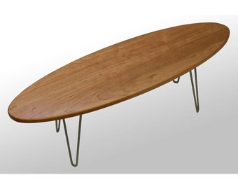The Longboard Coffee Table:  Cherry