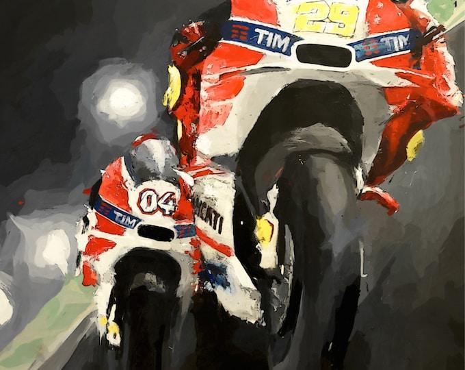 Round 1: MotoGP Qatar, Dovi vs. Iannone