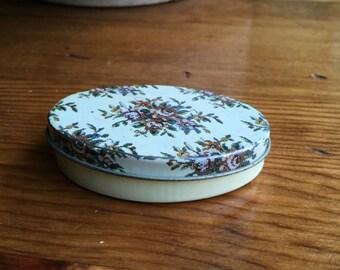 Floral Tin Box