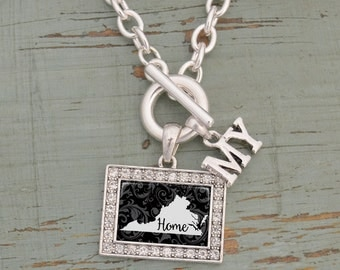 My Home Virginia Toggle Necklace - 57583VA