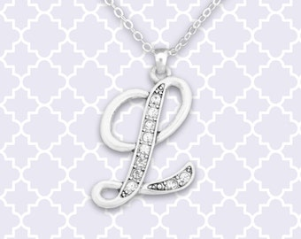 L Initial Necklace - 54298