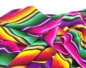 Guatemala | Traditional Handwoven Blanket– Rainbow/Assorted Colors