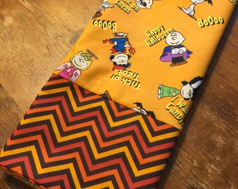Halloween Peanuts Pillowcase