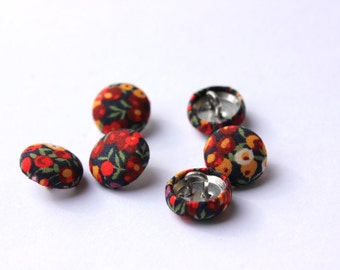 Liberty Buttons Liberty of London Fabric covered buttons 12mm