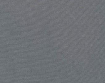 Kona Cotton Graphite from Robert Kaufman Fabrics
