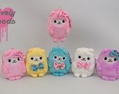 Doll backpack purse CUTE Back to School Alpaca Plush Animal Hujoo Monster Ever After Doll Pastel Goth