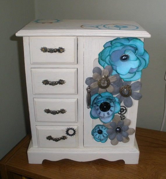 steampunk armoire dressing table organiser. Black Bedroom Furniture Sets. Home Design Ideas