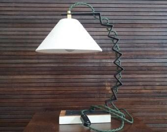 Handmade table lamp