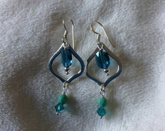 Swarovski Sterling Earrings