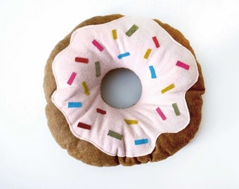 Doughnut Felt Pillow