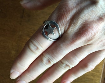 Silver Star Ring -- 313