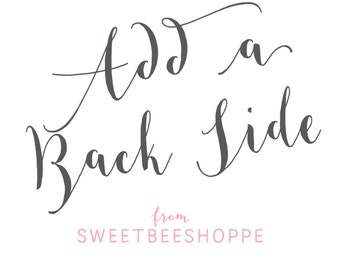 Back Side Design from Sweet Bee Shoppe