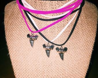 Silver Shark Tooth Short Wrap