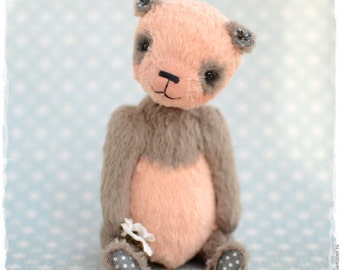Teddy bear DUSTY PANDA