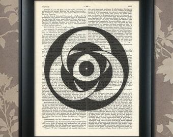 Crop Circles Print 4, Crop Circles Poster, Crop Circles Art, Crop Circles Decor, Crop Circles Gift, Alien Art, Sacred Geometry, Geekery