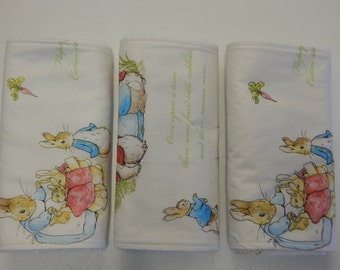 Beatrix Potter Peter Rabbit Burp Cloths - Set of 3