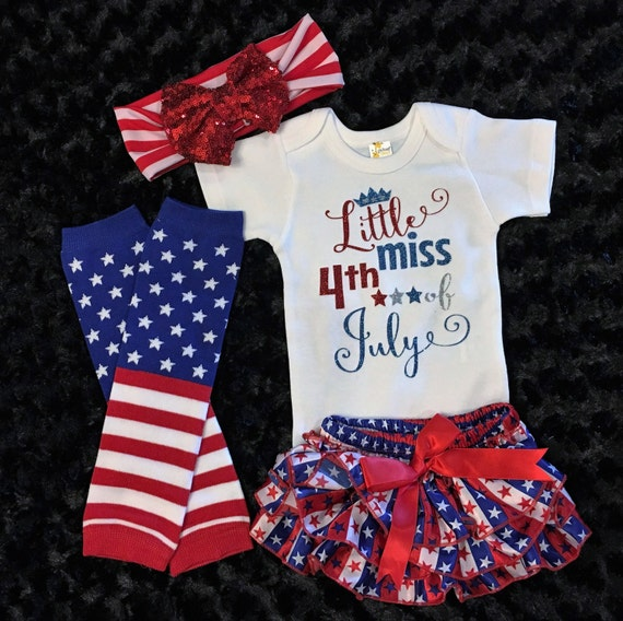 Celebrate your lil' firecracker's first fourth of July with My First 4th of July Baby Bodysuit. Their first name will be personalized above 1 of 4 phrase options. Baby Starters® Size 24M Flag Bodysuit Dress in Navy $ Brand: Baby 4th Of July Clothing.