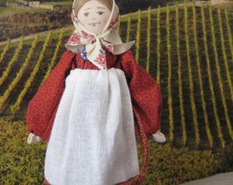 """Doll """"peasant girl"""""""