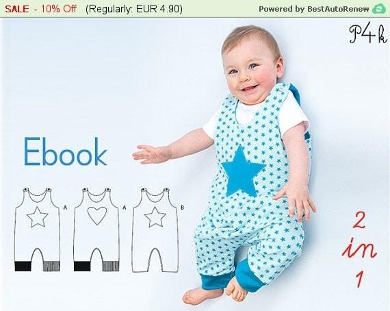 schnittmuster baby overall strampler babyanzug von. Black Bedroom Furniture Sets. Home Design Ideas
