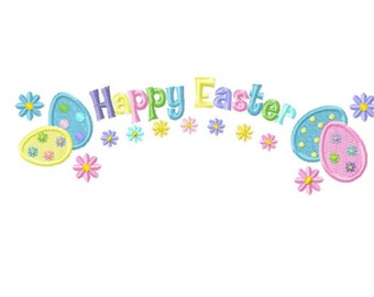 Happy Easter...Instant Download...Pattern Fill Machine Embroidery DESIGN NO. 615