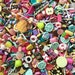 SALE - 50 pcs Candy Cabochons Assorted Mix - Sweet Deco Mix Embellishments
