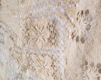 FLASH SALE- Vintage Crochet Throw