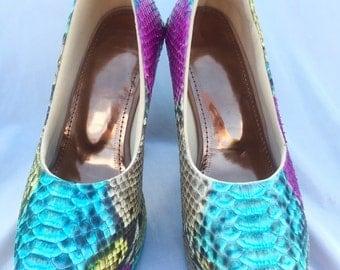 Sophie heels python