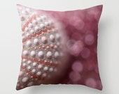 Pink Sea Urchin Pillow