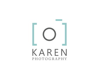 Modern Photography Logo - Photographer Logo, Photo watermark, Logo Design, Custom Logo, Graphic Design, Custom Business Logo, Pre-made Logo