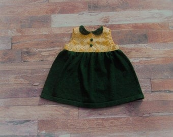 SALE Meadow Dress 3-6 months RTS vintage-inspired