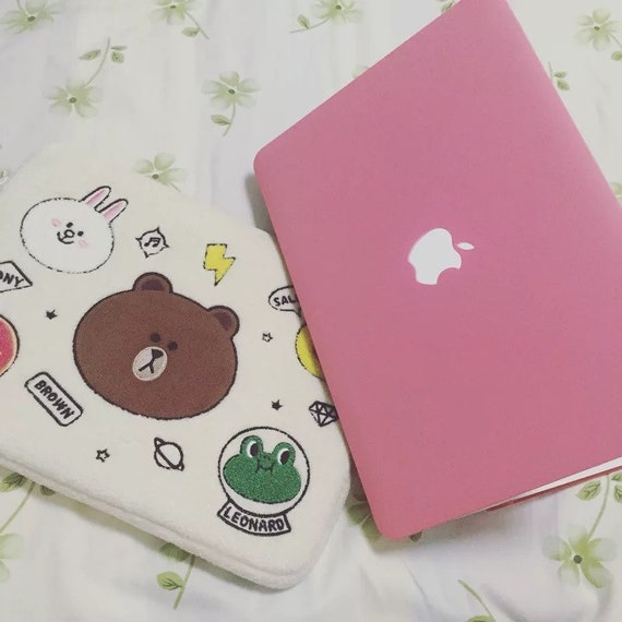 Diy Macbook Cover ~ Pink baby macbook case with keyboard cover laptop by