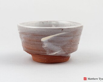 Guinomi Bowl with Hakame Slip Decoration
