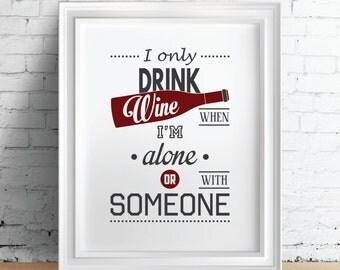Wein-Küche Poster Wein Küche Dekor Wein Küchenkunst Küche