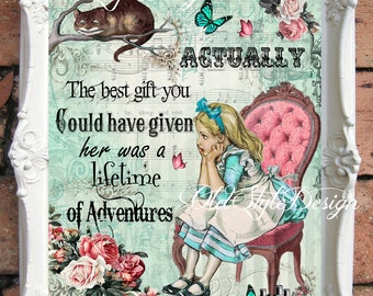 Alice In Wonderland Wall Art alice in wonderland wall art alice in wonderland decoration