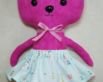 Bunny.  Rabbit.  Softie.  Toy.  Easter.  Handmade.