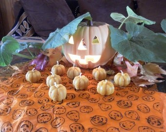 Halloween candles in French beeswax