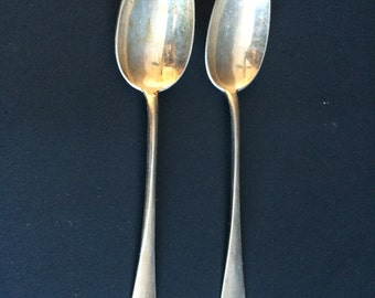 Set of 2 Silver Spoons by Vettiner