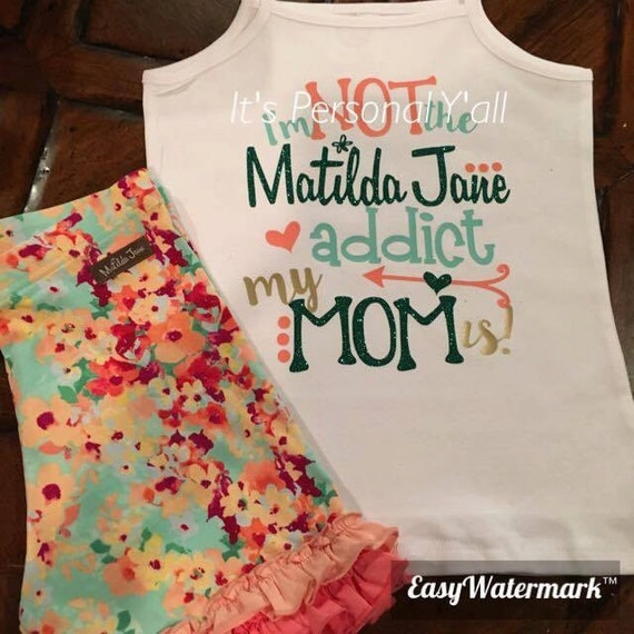Matilda Jane M2m Shirt Happy And Free I'm Not By