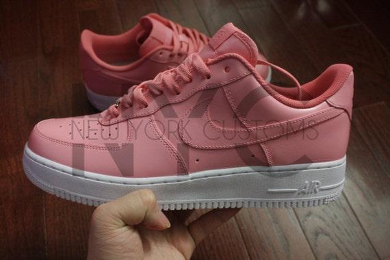 Nike Air Force 1 Lows Soft Pink Custom Men Women & Kids delicate