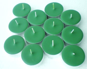 Citronella & Eucalyptus  12 Pack of Soy Tealight Candles