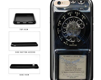 Detailed Rotary Phone - iPhone 4 4s 5 5s 5c 6 6s 6 Plus 6s Plus iPod Touch
