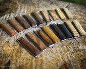 Stainless Steel and Wood Slimline Money Clips - Choose Your Favourite Wood - FREE USA SHIPPING