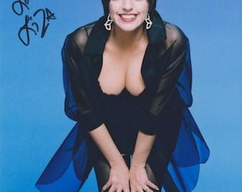 Liza Minnelli Vintage Original Hand Signed 8X10 Autographed Up Close Photo